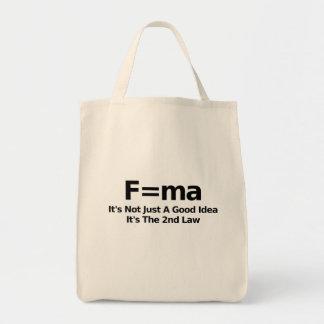 物理学のユーモアのトートバック トートバッグ