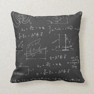 物理学の図表および方式 クッション