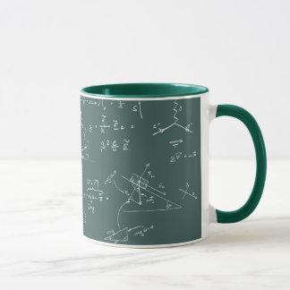 物理学の図表および方式 マグカップ