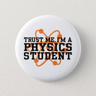 物理学学生 5.7CM 丸型バッジ