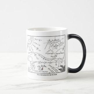 物理学者としてマグは左利きの世界の~を見ます モーフィングマグカップ