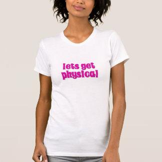 物理的になるために割り当てます Tシャツ
