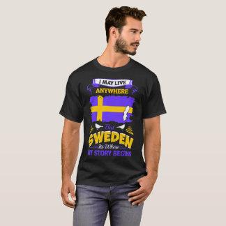 物語が始まるどこでもスイス連邦共和国住むよろしいです Tシャツ