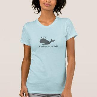 物語のクジラ! Tシャツ
