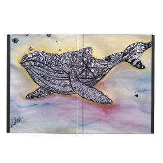 物語の例のクジラ POWIS iPad AIR 2 ケース