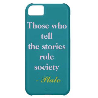 物語を言う人 iPhone5Cケース