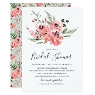 物足りなそうな|のブライダルシャワーの招待状 カード