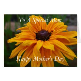 特別なお母さんに、幸せな母の日 カード