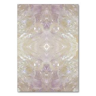 特別なテーブルカード芸術家は水晶陰を作成しました カード