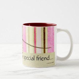 特別な友人から… ツートーンマグカップ
