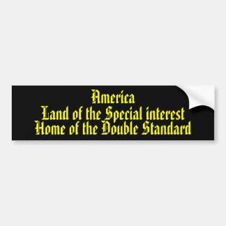 特別な興味のアメリカの土地…. バンパーステッカー