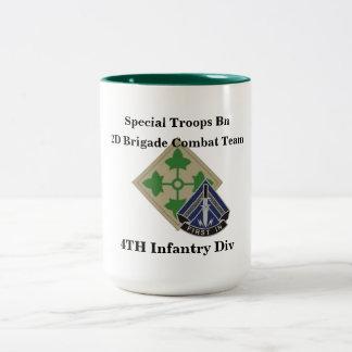 特別な軍隊の大隊第2 BCT第4の歩兵は襲います ツートーンマグカップ