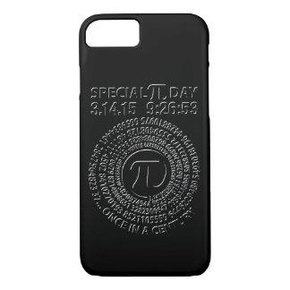 特別なPi日2015年の螺線形 iPhone 8/7ケース