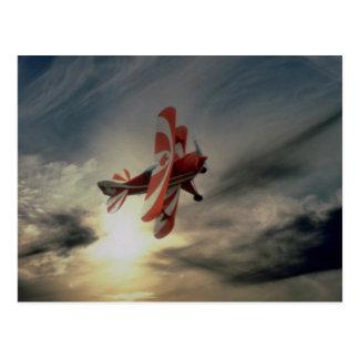 特別なPitz小選挙の曲技飛行の航空機 ポストカード
