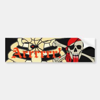 特別に長い舌を搭載するローレントDrapeau海賊 バンパーステッカー