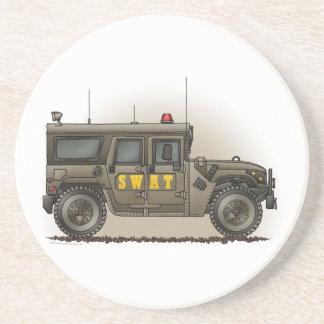 特別機動隊のハンマーのパトカーのコースター コースター
