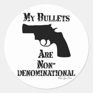 特定宗派に属さない弾丸 ラウンドシール