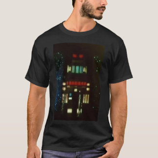 特定順序の人無しの基本的な暗いTシャツ Tシャツ