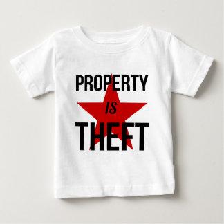 特性は盗難-無政府主義者の社会主義共産主義者です ベビーTシャツ