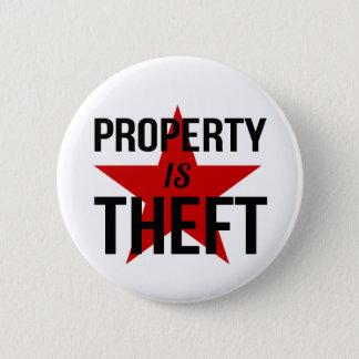特性は盗難-無政府主義者の社会主義共産主義者です 5.7CM 丸型バッジ