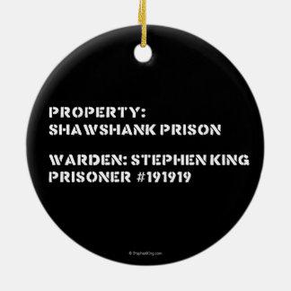特性: Shawshankの刑務所 セラミックオーナメント