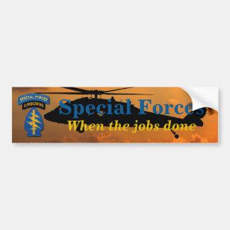 特殊部隊のグループの緑色のベレー帽SFG SF LRRPの獣医 バンパーステッカー