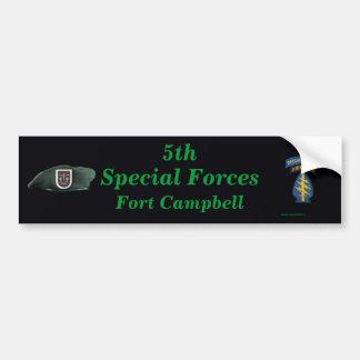 特殊部隊のグループのFort Campbell第5イラクのバンパー バンパーステッカー