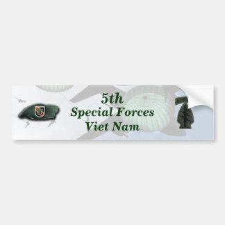 特殊部隊の緑色のベレー帽のベトナムの第5 nam バンパーステッカー