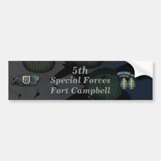 特殊部隊のFort Campbellの第5バンパーステッカー バンパーステッカー
