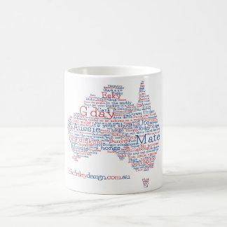 特集号のオーストラリアの俗語のマグ コーヒーマグカップ
