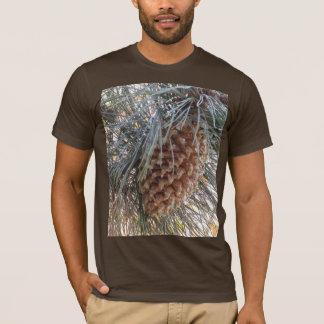 犂刃のマツ円錐形のワイシャツ Tシャツ