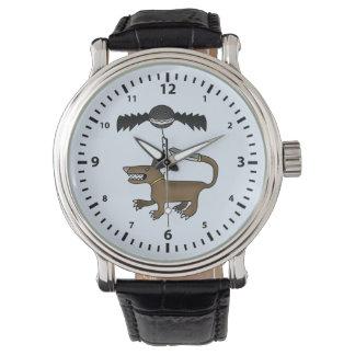 犬およびこうもりモンスター 腕時計