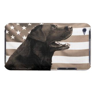 犬および米国旗 Case-Mate iPod TOUCH ケース