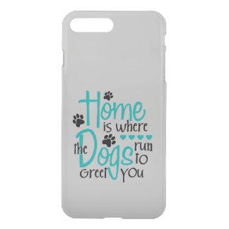 犬が付いている家 iPhone 8 PLUS/7 PLUS ケース