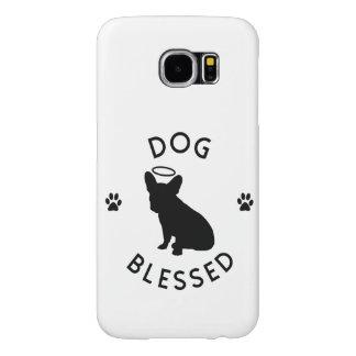 """""""犬によって賛美される""""フレンチ・ブルドッグの天使Samsungは包装します Samsung Galaxy S6 ケース"""