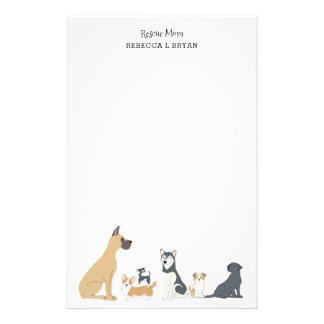 犬のお母さんの救助のお母さんのパパ犬はIIを繁殖させます 便箋