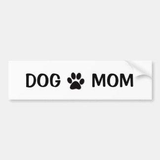 犬のお母さん バンパーステッカー