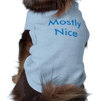 犬のためのおもしろTシャツ ペット服