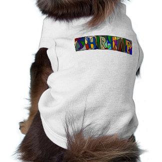 犬のためのエビの~名前入りなLGLETTERの~ PET-WARE ペット服
