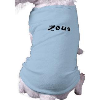 犬のためのゼウスの一流のTシャツ ペット服