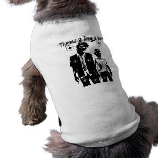 犬のためのゾンビの黙示録のTシャツ ペット服