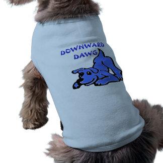 犬のためのヨガのワイシャツ ペット服