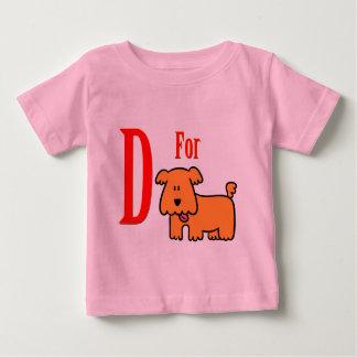 犬のためのD ベビーTシャツ