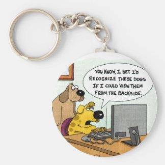 犬のためのFacebook キーホルダー