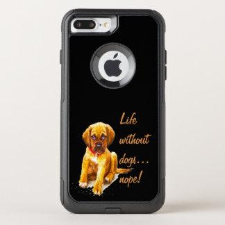 犬のない生命、nopeのおもしろいの引用文 オッターボックスコミューターiPhone 8 plus/7 plusケース