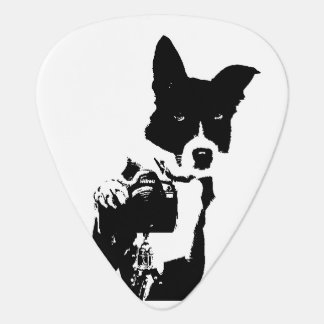犬のカメラマン ギターピック