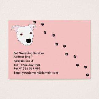 犬のグルーミングの名刺 名刺