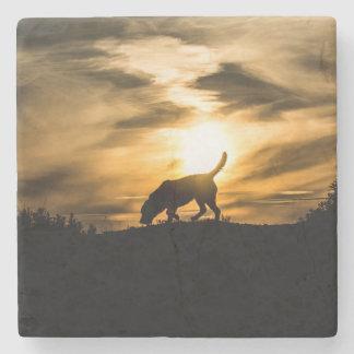 犬のコースター 石 コースター