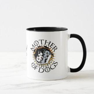 犬のコーヒー・マグの母 マグカップ