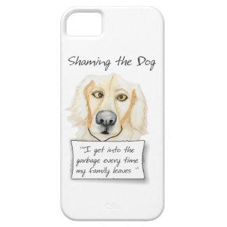 犬のゴールデン・リトリーバーに恥をかかせること iPhone 5 ベアリーゼアケース